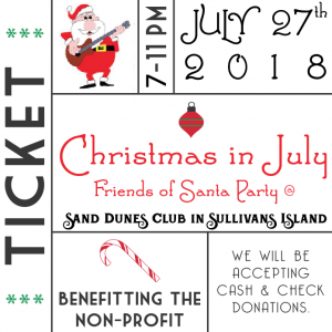 Reservations for Christmas in July